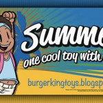 "Burger King ""Summer Fun"" Toys"