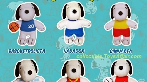 "Burger King ""Snoopy"" Plush Toys"